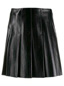 MSGM matte pleated skirt - Black