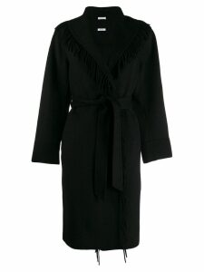 P.A.R.O.S.H. tassel coat - Black