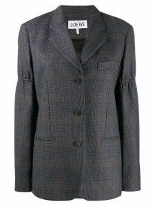 Loewe Prince of Wales check blazer - Grey