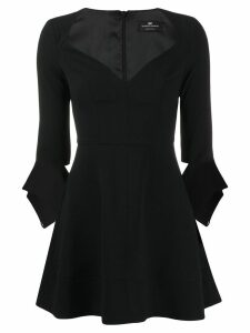 Elisabetta Franchi cocktail mini dress - Black