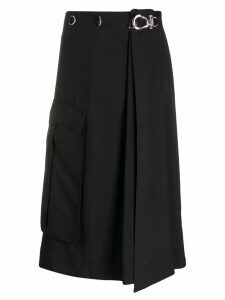 Prada fluid cargo skirt - Black