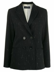 Piazza Sempione classic fitted blazer - Black