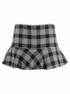 Red Valentino Red Valentino houndstooth skirt - Black