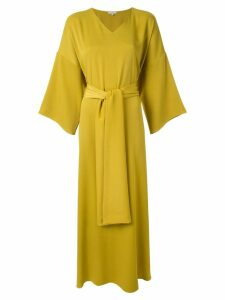 Layeur wide sleeve maxi dress - Yellow