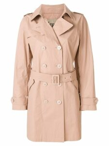Herno double-breasted trench coat - Neutrals