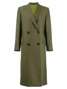 Fendi classic tailored coat - Green