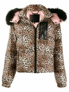 Philipp Plein Paillettes jacket - Brown