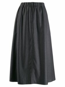 Sofie D'hoore flared Suwon skirt - Grey