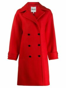 Kenzo double breasted coat - Red