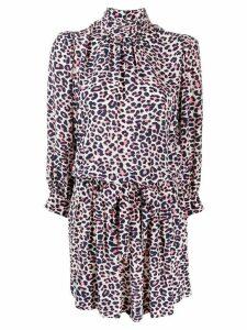 Zadig & Voltaire leopard print dress - White