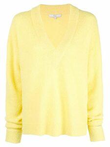 Tibi oversized V-neck jumper - Yellow