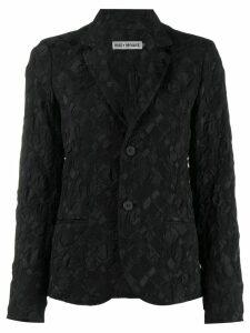 Issey Miyake blazer-style jacket - Black