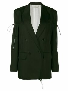 Nina Ricci drawstring toggle blazer - Black