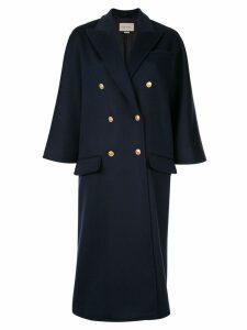 Gucci flare sleeve coat - Blue