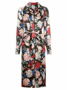 Erdem floral shirt dress - Black