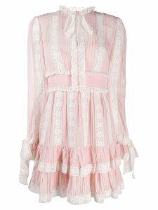 Zimmermann short Verity dress - Pink