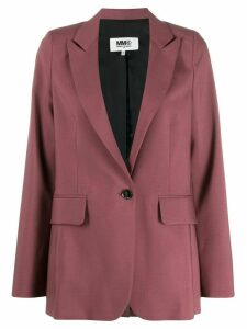 Mm6 Maison Margiela relaxed fit blazer - Pink