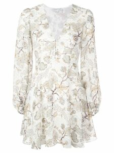 Shona Joy all-over print dress - White