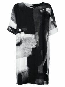 Natori printed T-shirt dress - Black