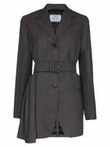 Prada belted blazer jacket - Grey