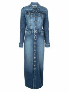 Mother denim shirt dress - Blue