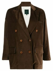 Jejia double breasted jacket - Brown