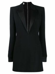 Philosophy Di Lorenzo Serafini plunge neck tuxedo dress - Black