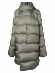 Rick Owens oversized padded coat - Grey