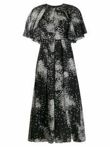 Giambattista Valli printed midi dress - Black