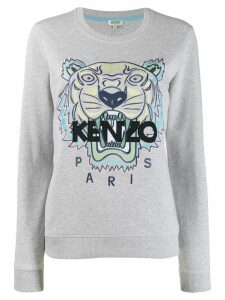 Kenzo tiger logo sweater - Grey