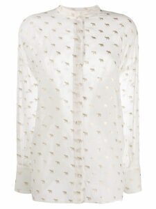 Dondup elephant print shirt - White