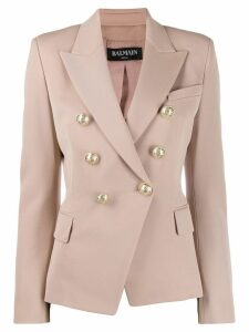 Balmain classic tailored blazer - NEUTRALS