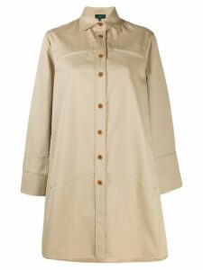 Jejia swing trench coat - Neutrals