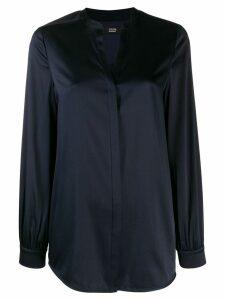 Steffen Schraut V-neck blouse - Blue