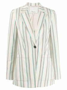 3.1 Phillip Lim Oversized Striped Blazer - Neutrals