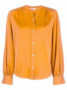 Vince button-up blouse - Orange