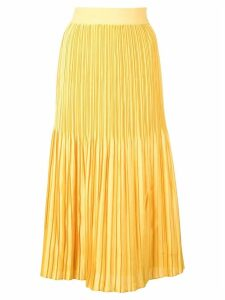Alice+Olivia pleated skirt - Yellow