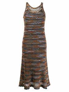 M Missoni knit midi dress - Blue