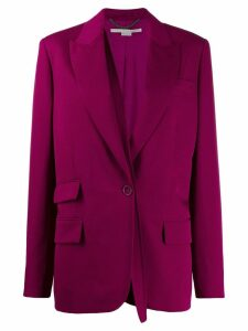 Stella McCartney removable strap blazer - Pink