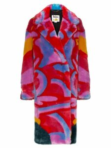 Stella McCartney All Together Now Fur Free coat - 8486 Multicoloured