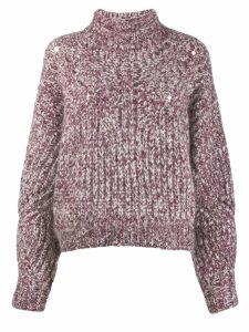 Isabel Marant chunky knit jumper - Pink