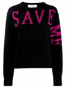 Alberta Ferretti Save Me sweater - Black