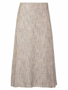 Theory A-line skirt - Brown