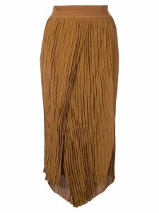 Vince wrapped front skirt - Brown