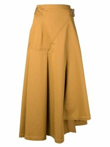 3.1 Phillip Lim Belted Skirt - Yellow