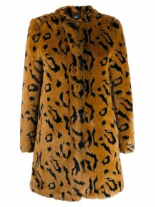 Steffen Schraut Wild faux fur coat - Brown
