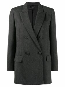 Miu Miu double breasted wool blazer - Grey