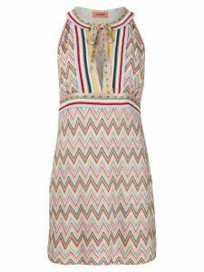 Missoni zigzag knit dress - NEUTRALS