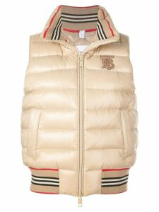 Burberry padded gilet - Neutrals