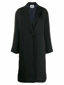 Vince classic single-breasted coat - Blue